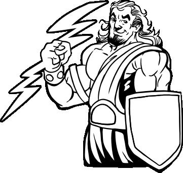 Zeus clipart #8