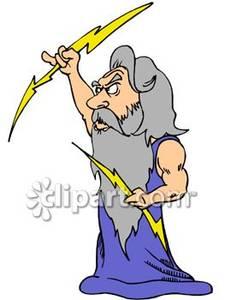 Zeus clip art.