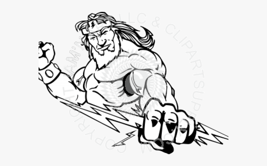 Zeus Drawing Easy , Free Transparent Clipart.