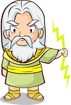 Zeus Greek God.
