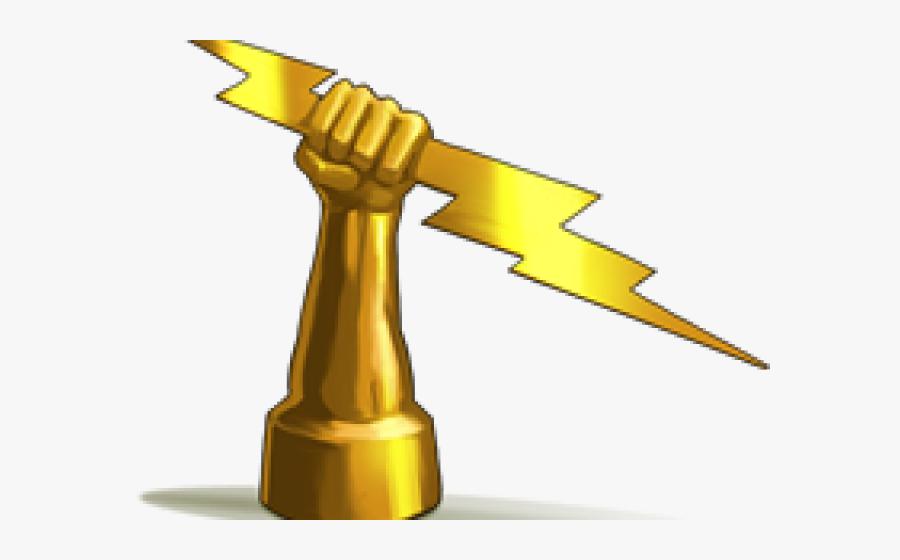 Zeus Lightning Bolt Clipart.