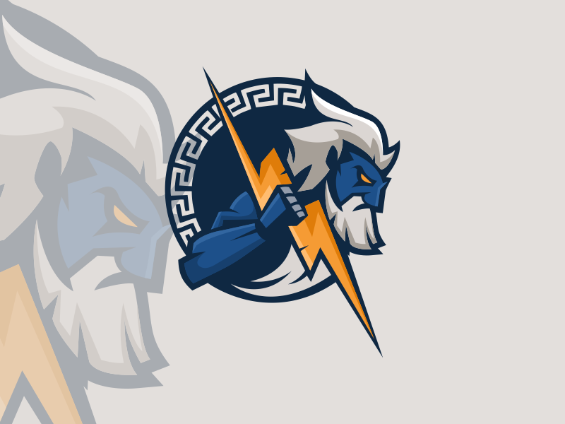Zeus Esport Logo by Starla_arts on Dribbble.