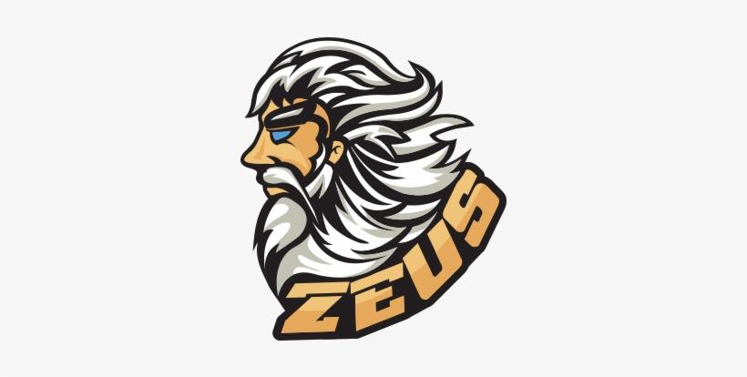 Zeus Mascot Logo Png.