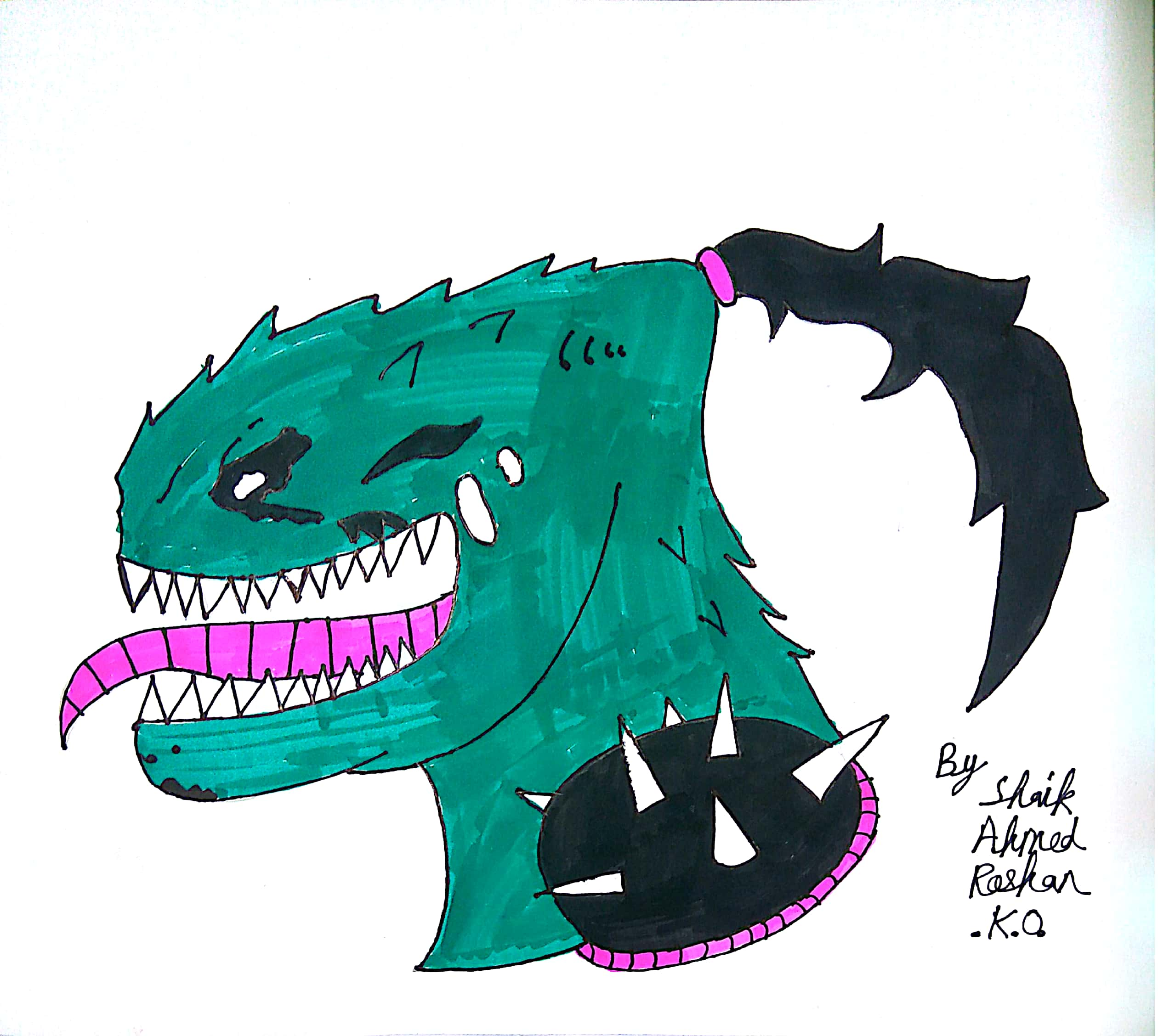 I drew the ZHC logo i am 11 years old : ZHCSubmissions.