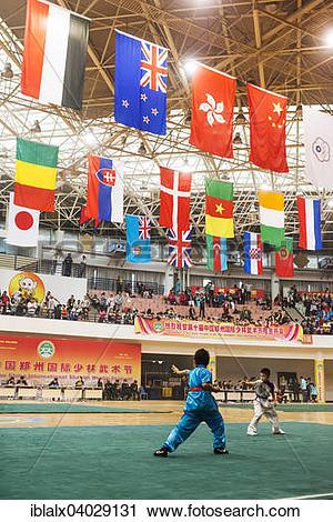 "Stock Photography of ""Children perform at Zhengzhou International."