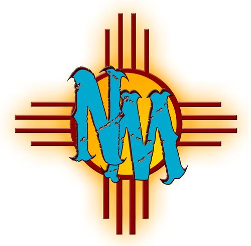 New Mexico Zia Symbol Clipart.