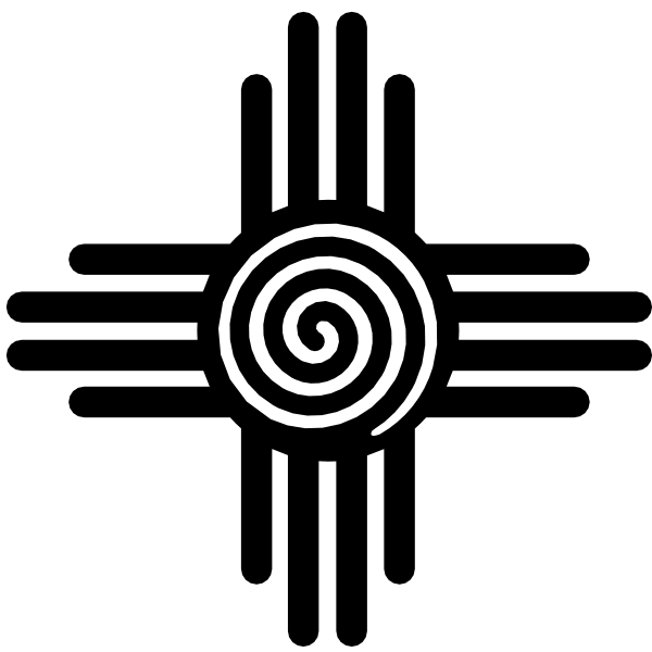 Zia Pueblo Zia people Solar symbol Navajo.
