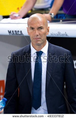 Zidane real madrid clipart.