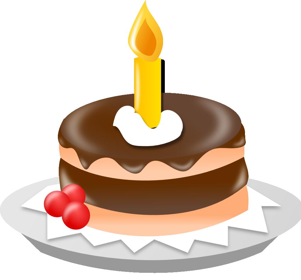 Birthday Cake Graphics Clip Art.