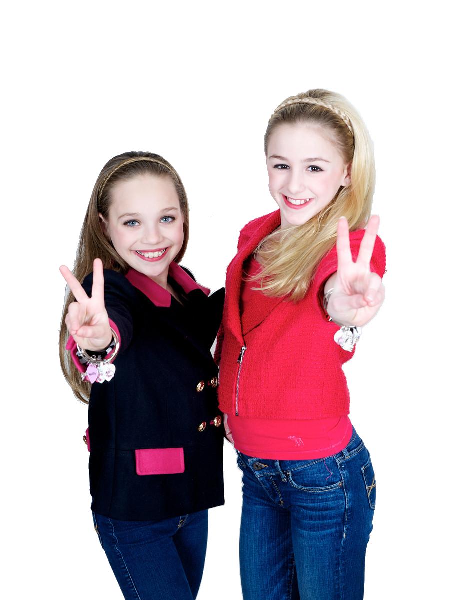Maddie Ziegler and Chloe Lukasiak.