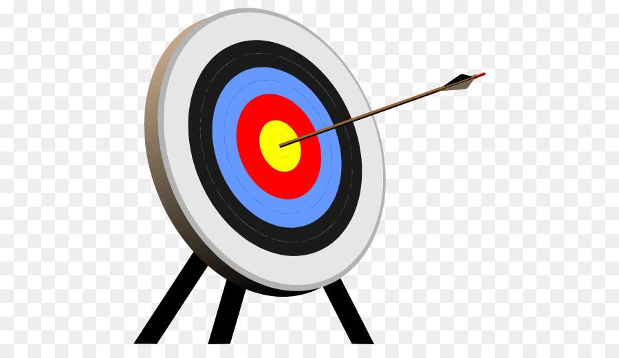 Target Bogenschießen Schießen Ziel clipart.