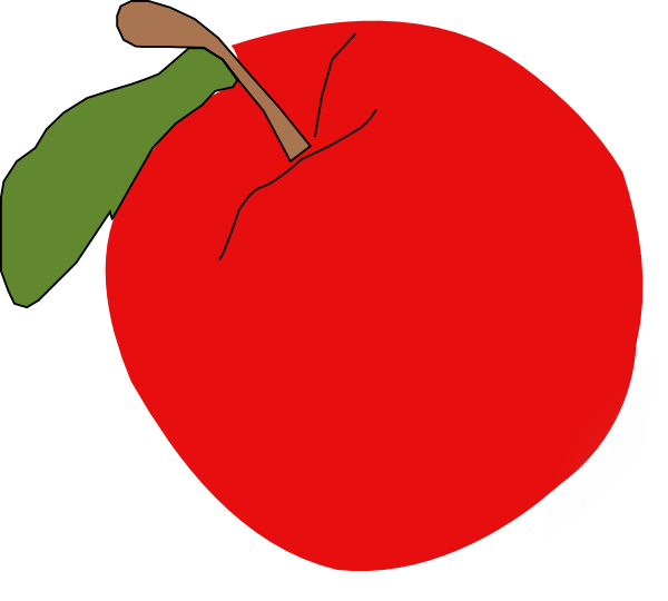 Jabłko Clipart.