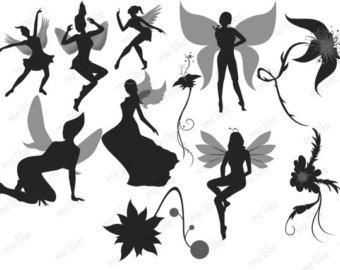 Fairy silhouette.