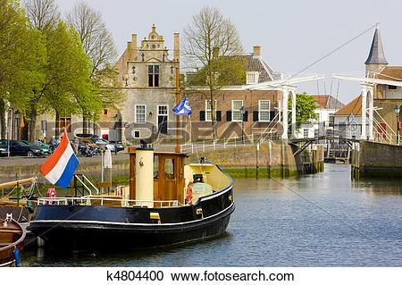 Stock Photography of Zierikzee, Zeeland, Netherlands k4804400.