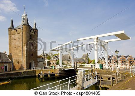 Stock Images of Zierikzee, Zeeland, Netherlands.