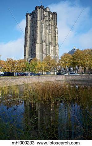 Stock Photo of Niederlande, Zeeland, Zierikzee, Saint.