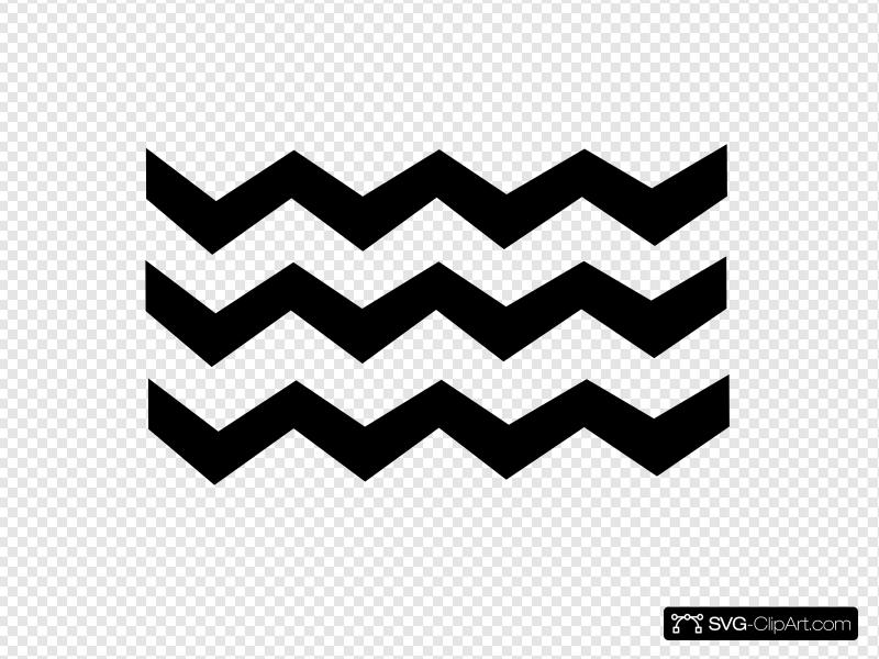 Zig Zag Clip art, Icon and SVG.