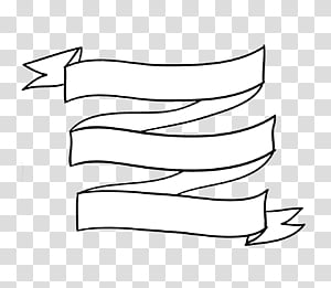 Ribbon Overlays y ABR, white zig zag ribbon art transparent.