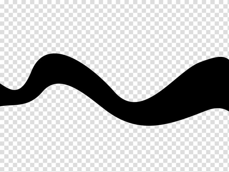 Ondas Waves PS, black zig zag line transparent background.