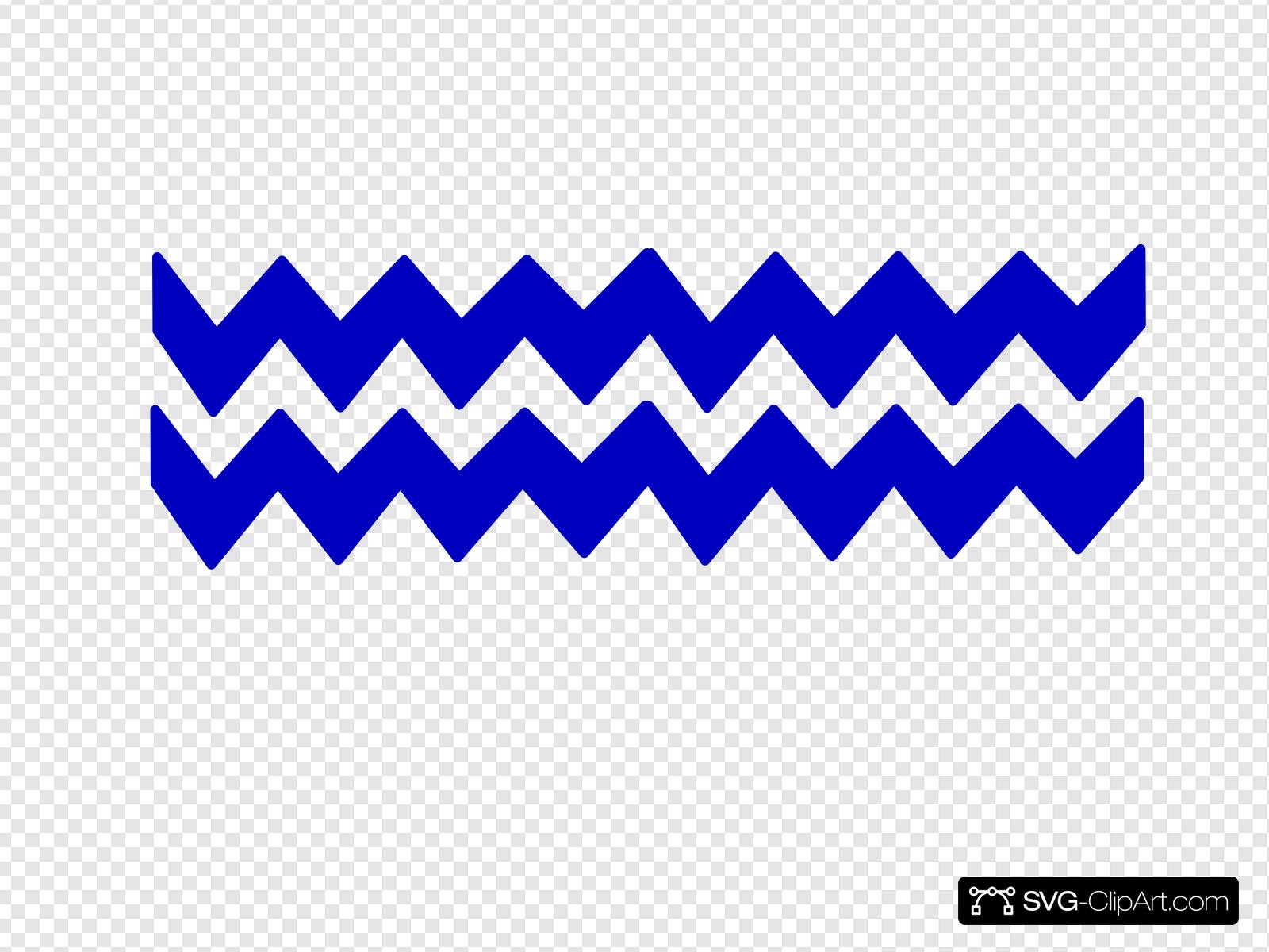 Zig Zag Chevron Clip art, Icon and SVG.
