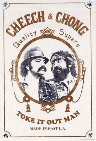 Cheech and Chong Zig Zag Poster 24x36.