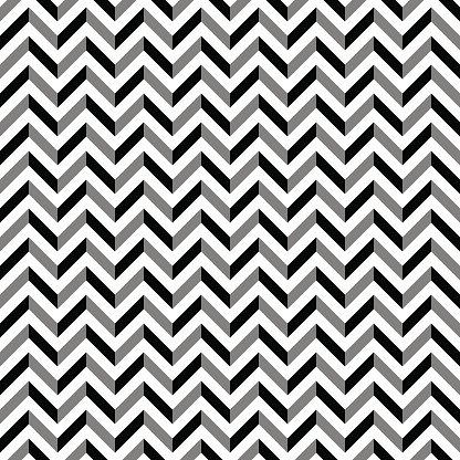 Zigzag pattern Clipart Image.