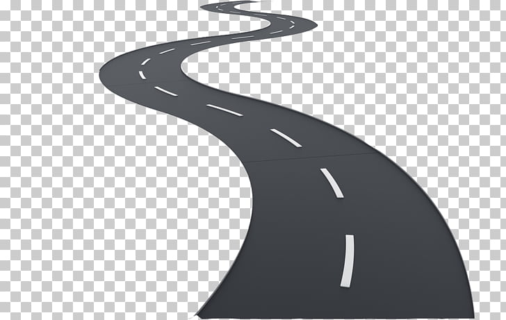 Brand Black and white, road, zigzag road PNG clipart.