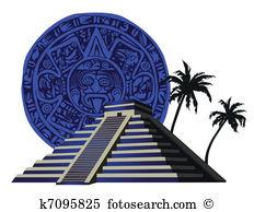 Ziggurat Clipart and Illustration. 46 ziggurat clip art vector EPS.