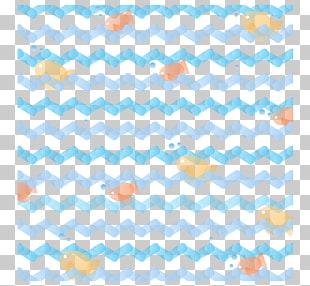 Dress Zigzag Teal White Textile, blue wave pattern ocean.