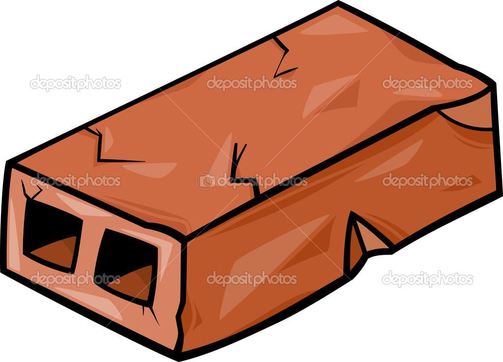 Alte Ziegel cartoon ClipArt — Stockvektor © izakowski #38110799.
