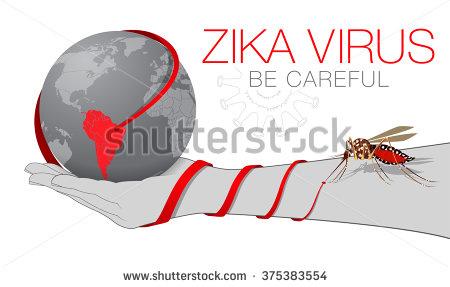 Zika Virus Alert Stock Images, Royalty.
