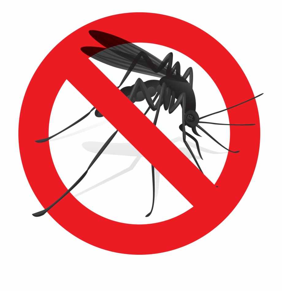 Mosquito Clipart Harm Say No To Zika.