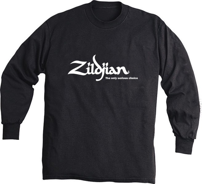 Zildjian Black Long Sleeve with Logo L.