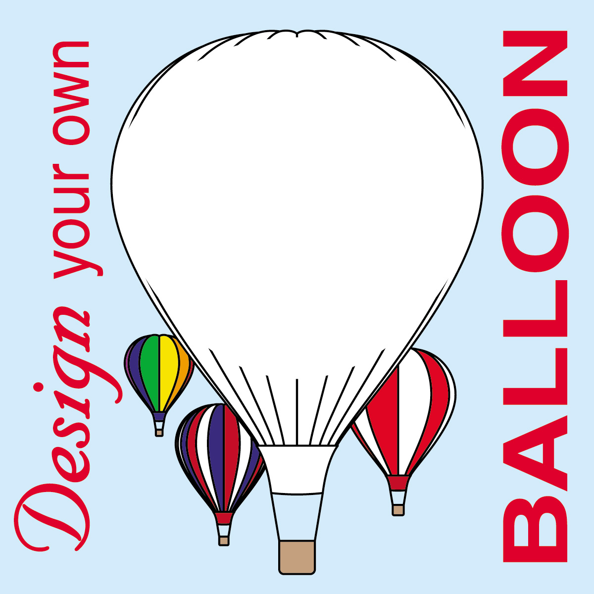 Free printable coloring pages hot air balloon - Balloon Zilla Pic Hot Air Balloon Clipart