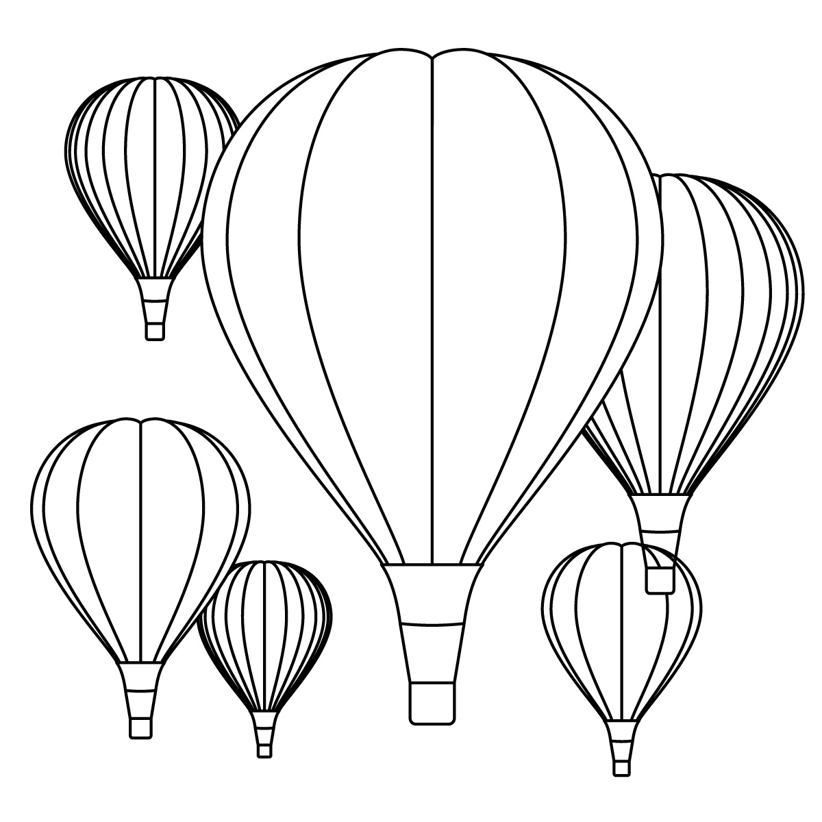 Balloon Zilla Pic: Hot Air Balloon Clipart.