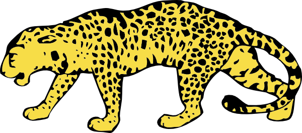 Zillah leopard clipart mascot clipart images gallery for.