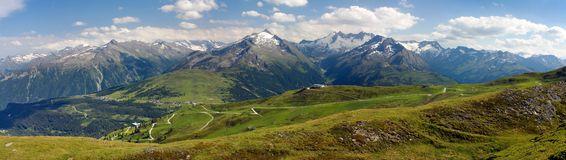 Panorama Der Zillertaler Alpen In Suedtirol Royalty Free Stock.