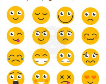 All the Emoji Clip Art.