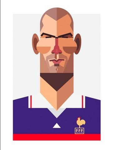 Showing post & media for Zidane cartoon.