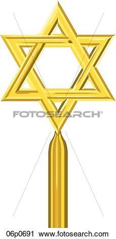 Clipart of zion emblem 06p0691.