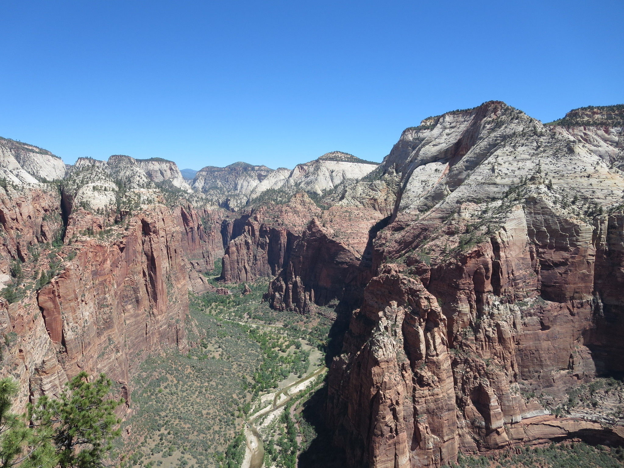 Angels Landing Trail.