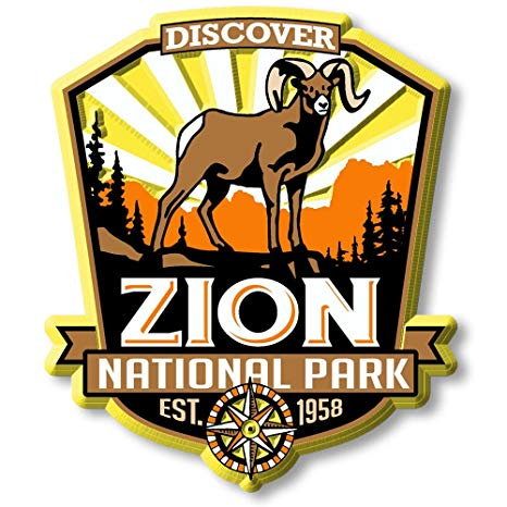 Zion National Park Magnet.
