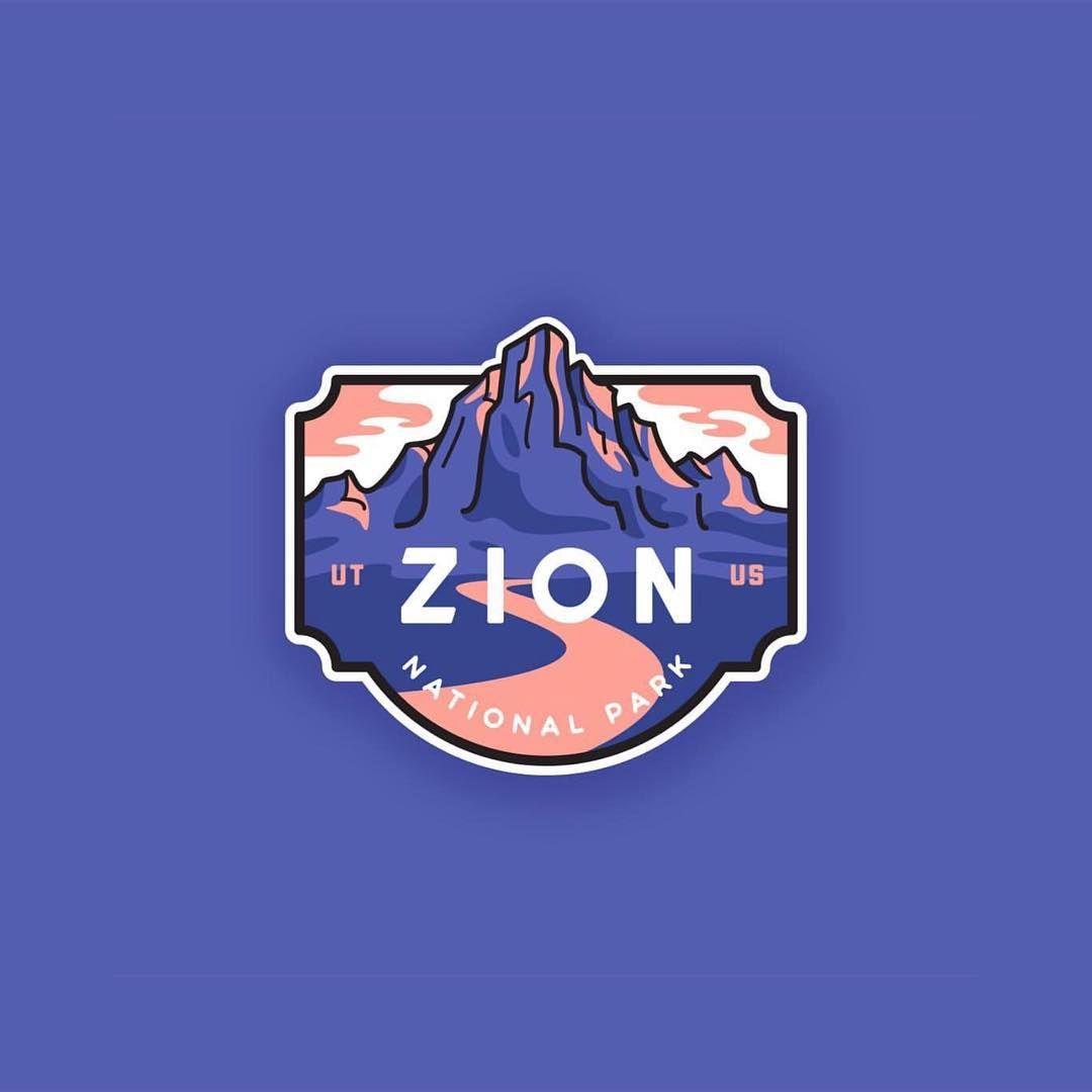 Follow us @logoinspirations Zion National Park by.