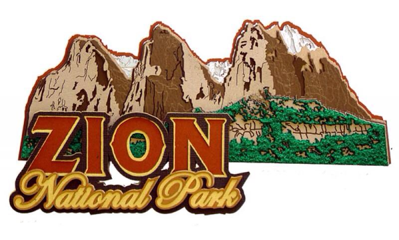 Zion National Park by Paper Wizard. Available at www.