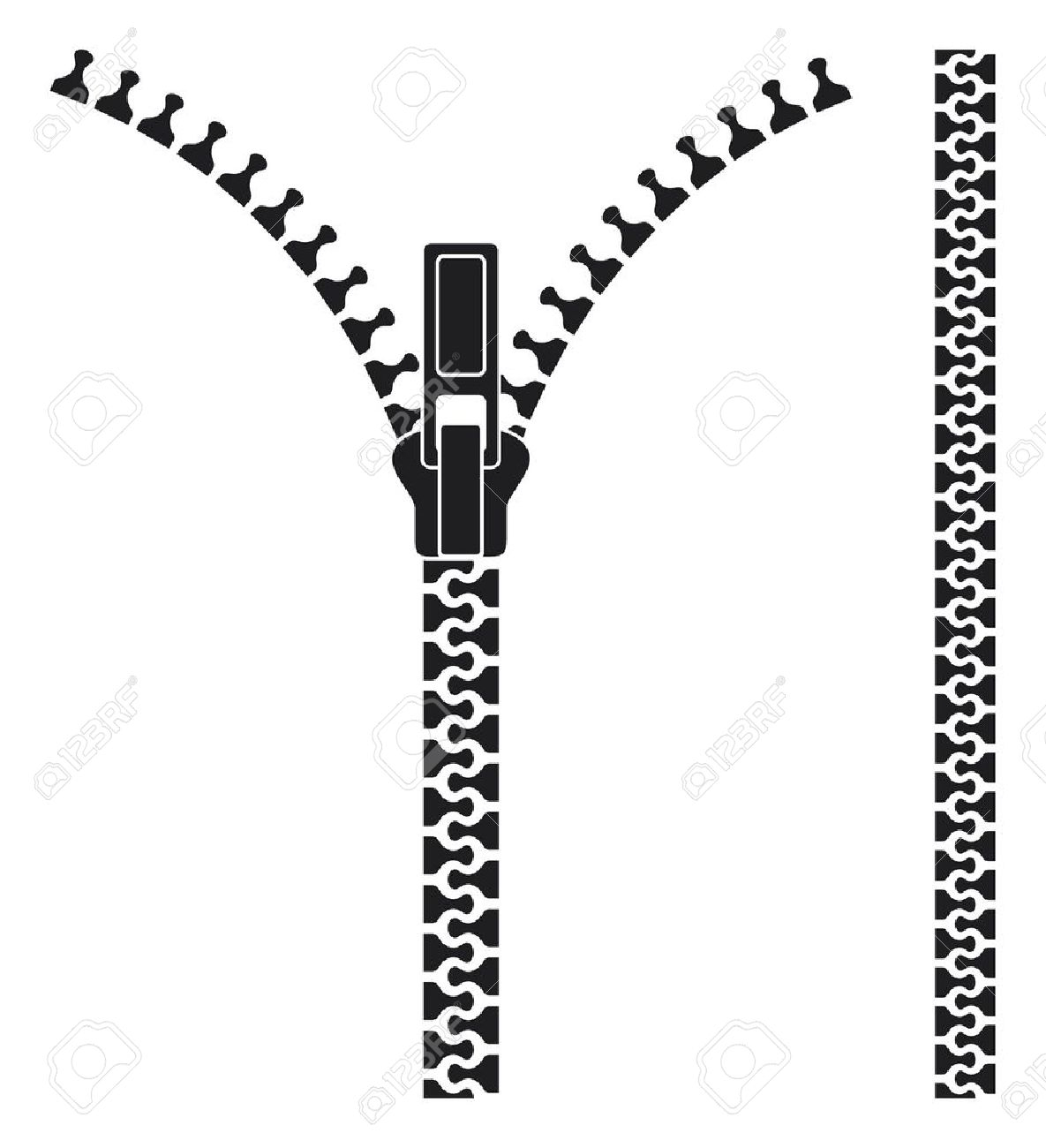 Zipper Black And White Clipart Clipground