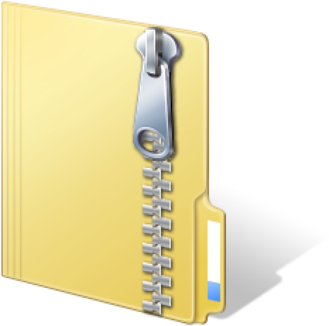 Zip File Icon #205967.
