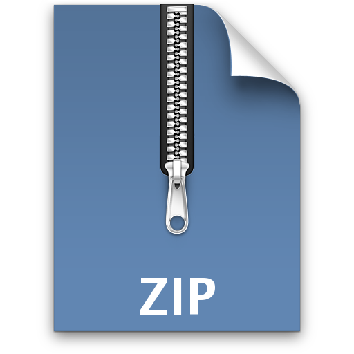 File Zip Save Icon Format #6844.