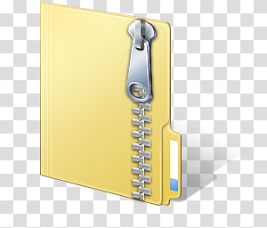 Vista Files, ZIP icon transparent background PNG clipart.