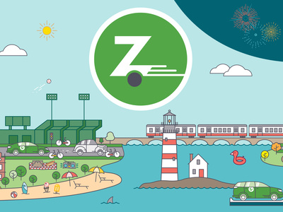 Zipcar designs, themes, templates and downloadable graphic.