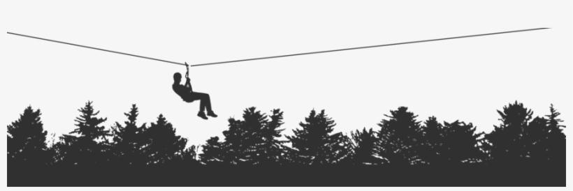 Download Zipline Silhouette Png Clipart Zip.